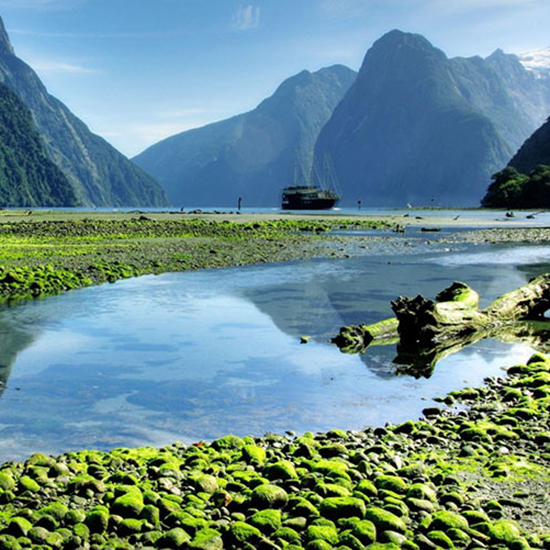 2. Milford Sound, Fiordland National Park, New Zealand