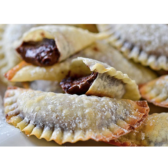 Chocolate-Hazelnut Ravioli