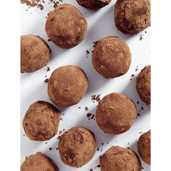 No-Bake Nutella Truffles