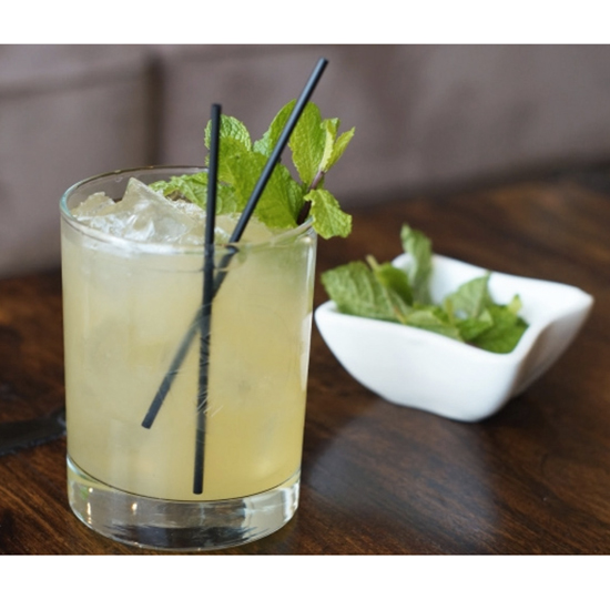 Instead of a strawberry mojito, try a whiskey smash