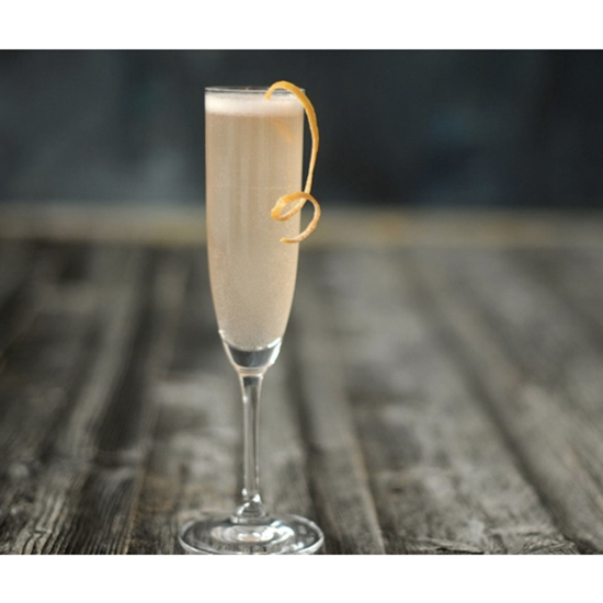 Instead of a mimosa, try a French 75