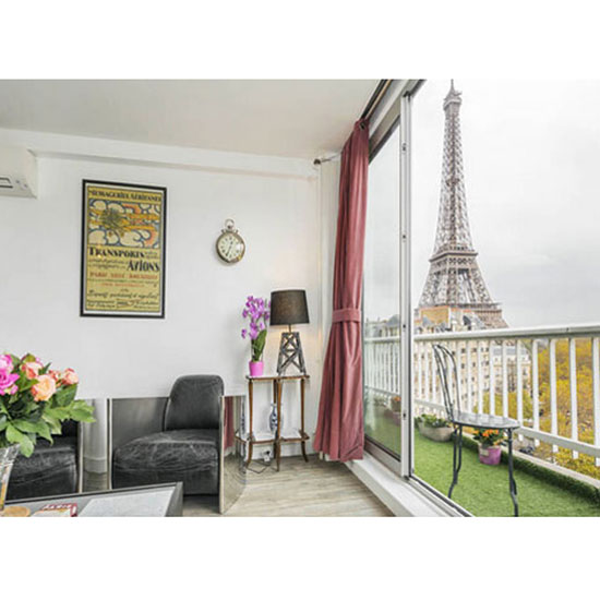 FWX PARTNER PUREWOW PARIS AIRBNBS EIFFEL TOWER
