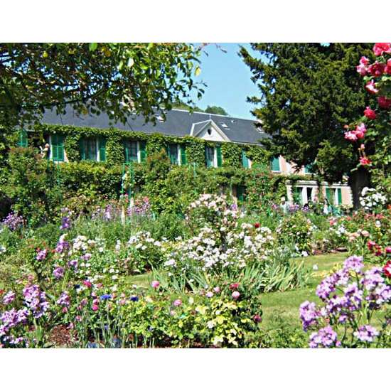 Claude Monet's Garden at Giverny, Normandy, France