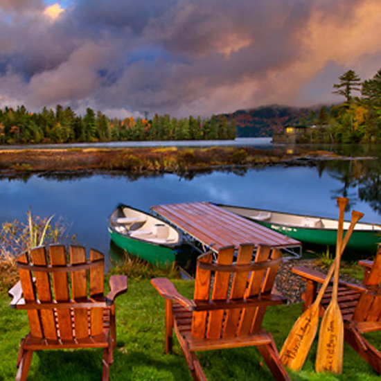 Best For Northern Leaf-Peeping: Lake Placid, New York