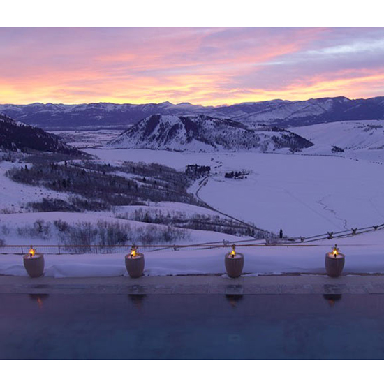 Best Views: Amangani Hotel (Jackson Hole, WY)