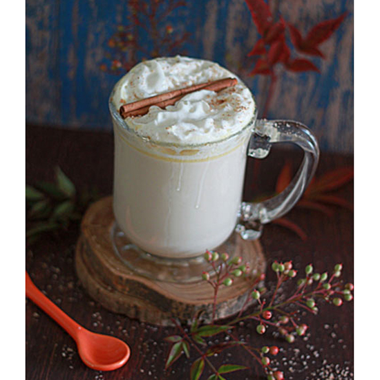 Peppermint Spice White Hot Chocolate