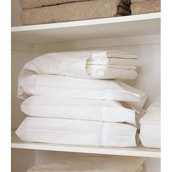 Keep spare linens in pillowcases