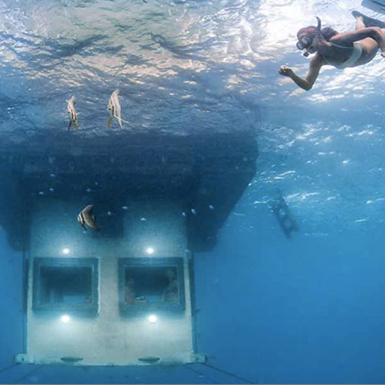 The Underwater Room, Tanzania