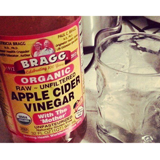 Rinse with Vinegar
