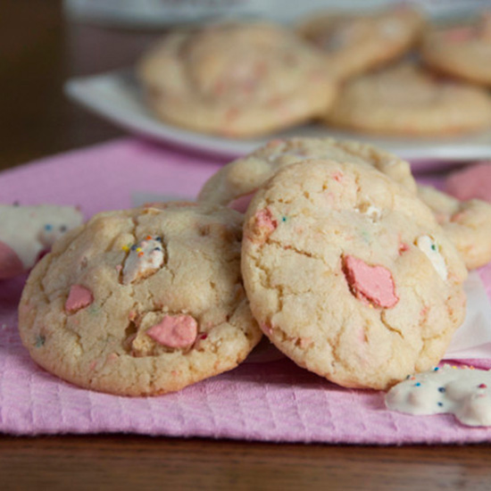 Frosted Animal Cracker Sugar Cookies