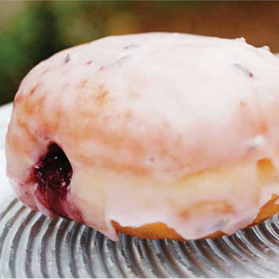 The Purple Goat Donut at Glazed Gourmet