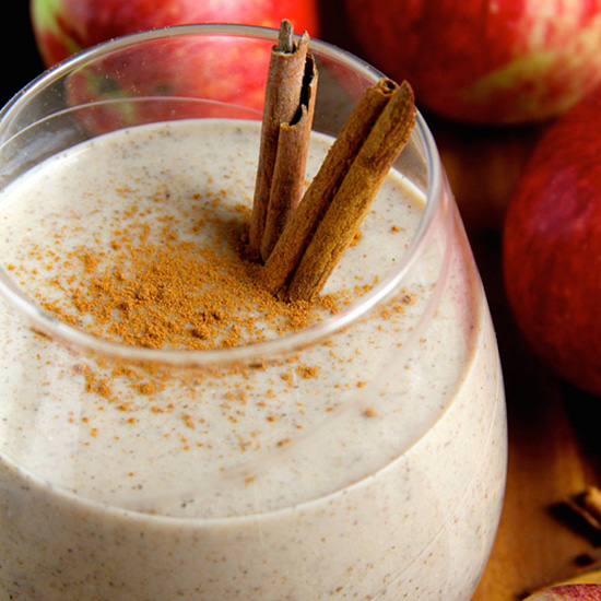 Caramel Apple Overnight Oatmeal Smoothie