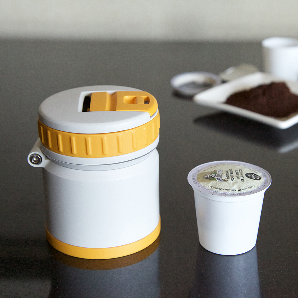 The Tiny Gadget That Could Finally Help You Recycle Your K-Cups