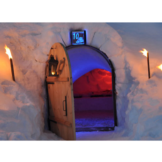FWX PUREWOW COOL NON HOTEL VACATIONS IGLOO
