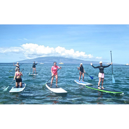 3. Stand-Up Paddleboarding In Maui