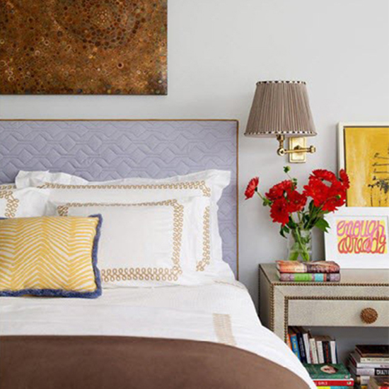 If You Have: An upholstered headboard