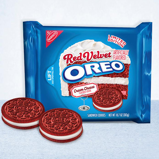 FWX RED VELVET OREO WITH COOKIES
