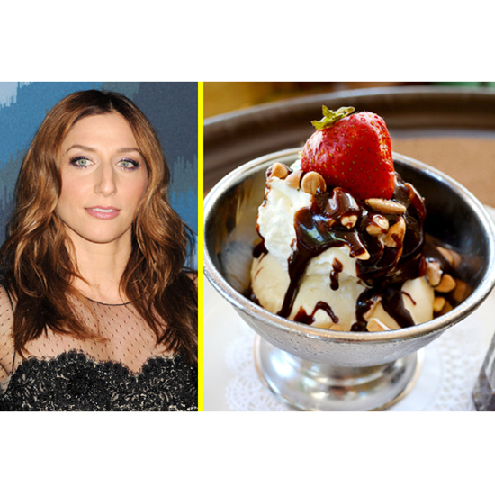 The Celeb: Chelsea Peretti - The Dessert: C.C. Brown's Hot Fudge Sundae At The Tam O'Shanter