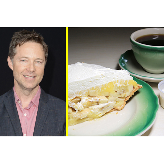The Celeb: George Newbern - The Dessert: Banana Cream Pie At The Apple Pan