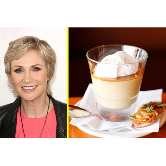 The Celeb: Jane Lynch - The Dessert: Budino At Pizzeria Mozza