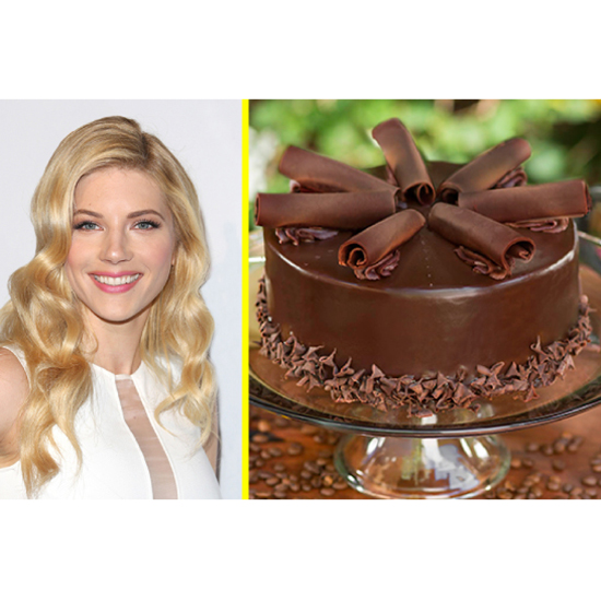 The Celeb: Katheryn Winnick - The Dessert: Gluten-Free Chocolate Cake At Urth Caffé