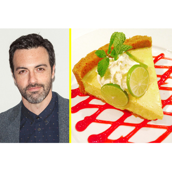 The Celeb: Reid Scott - The Dessert: Key Lime Pie At Mastro's