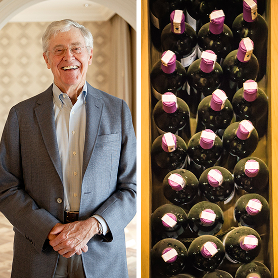 5. Charles Koch – worth $41 Billion