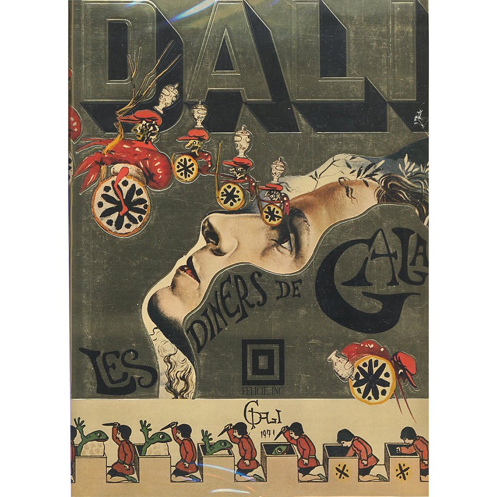 FWX SALVADOR DALI COOKBOOK