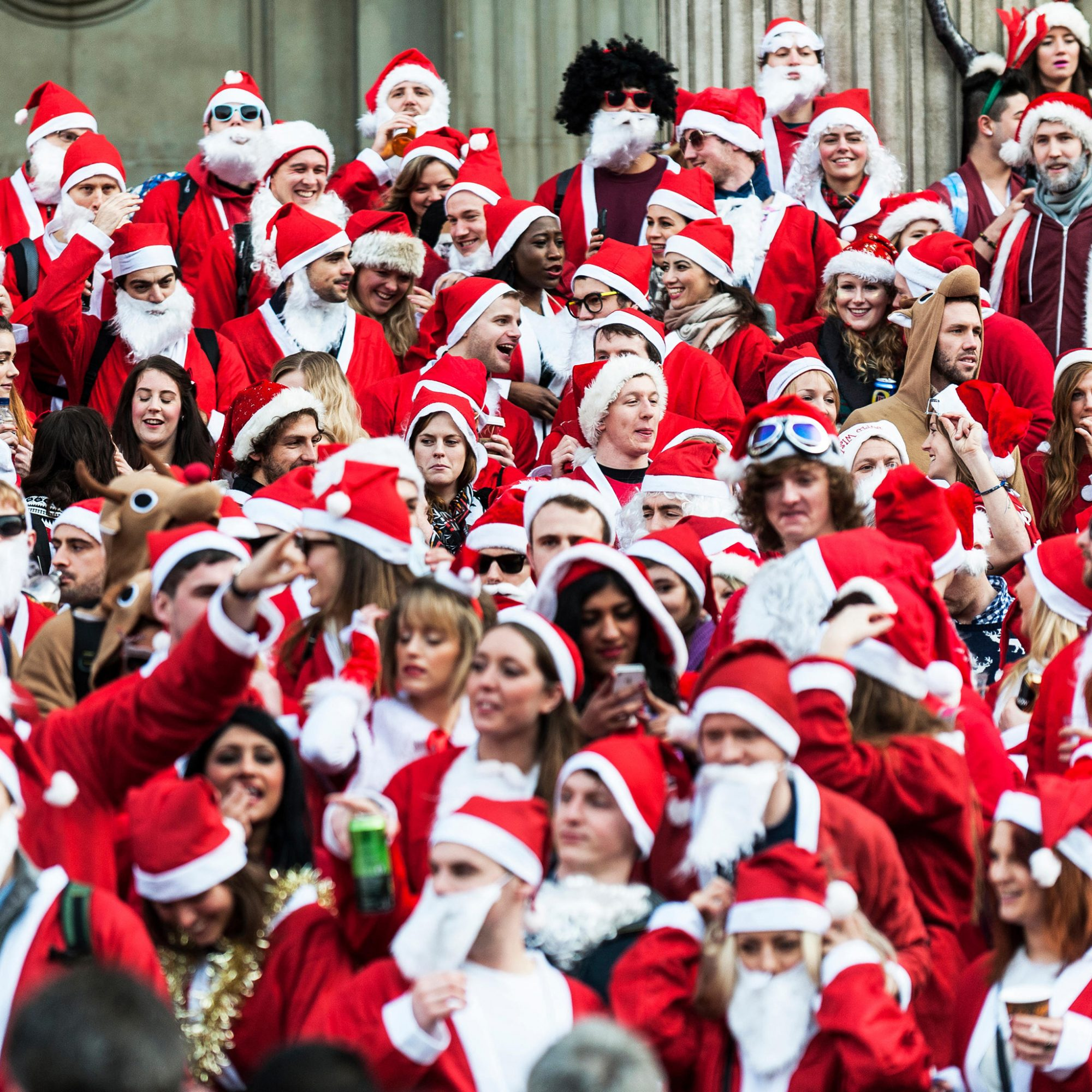 NYC's SantaCon 2014 Slated to Start in Bushwick