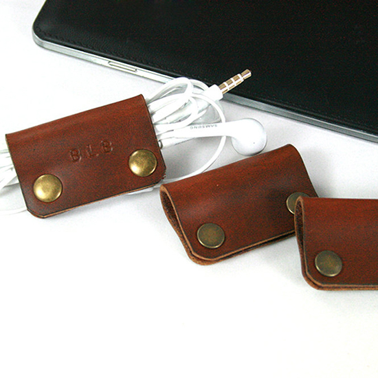 Engraved Earphone Organizer
