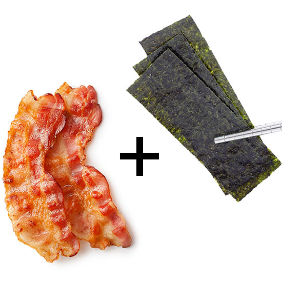 Bacon Seaweed