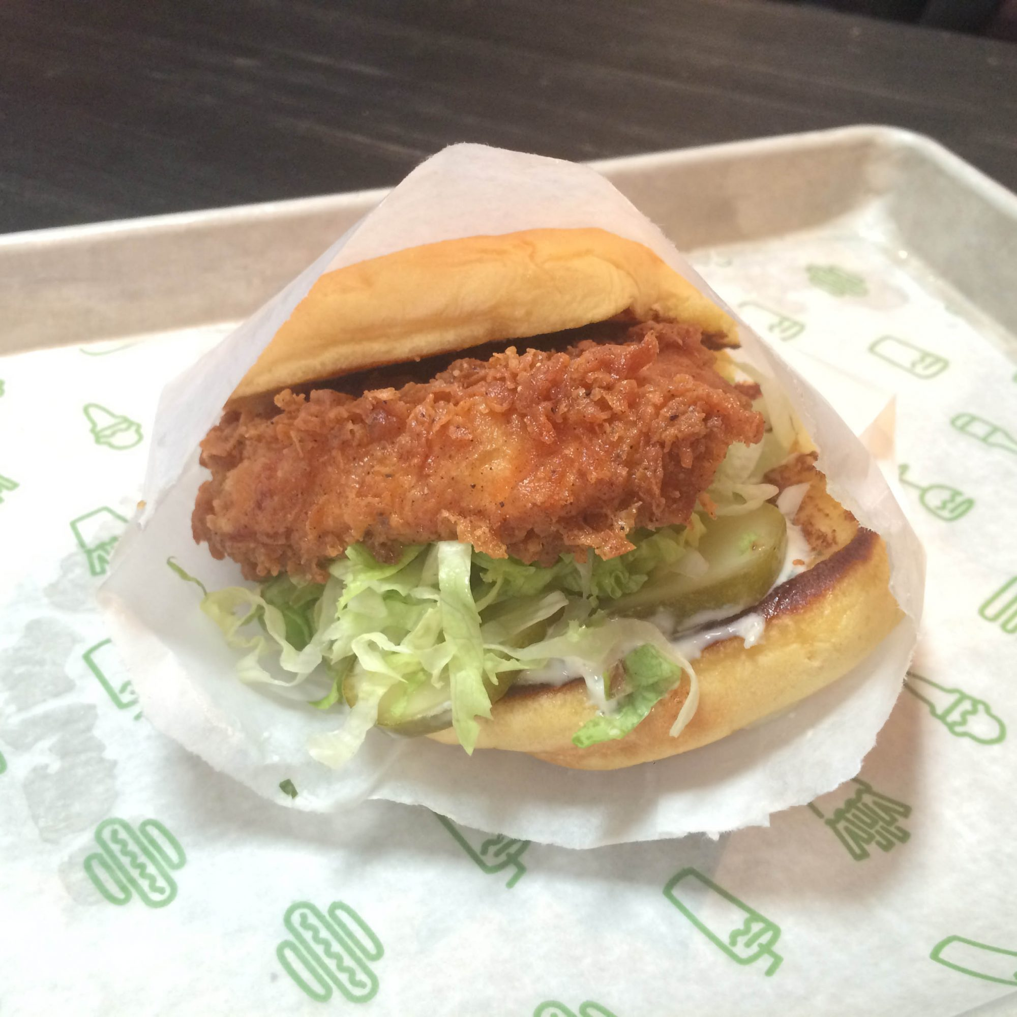 FWX SHAKE SHACK CHICKEN SANDWICH