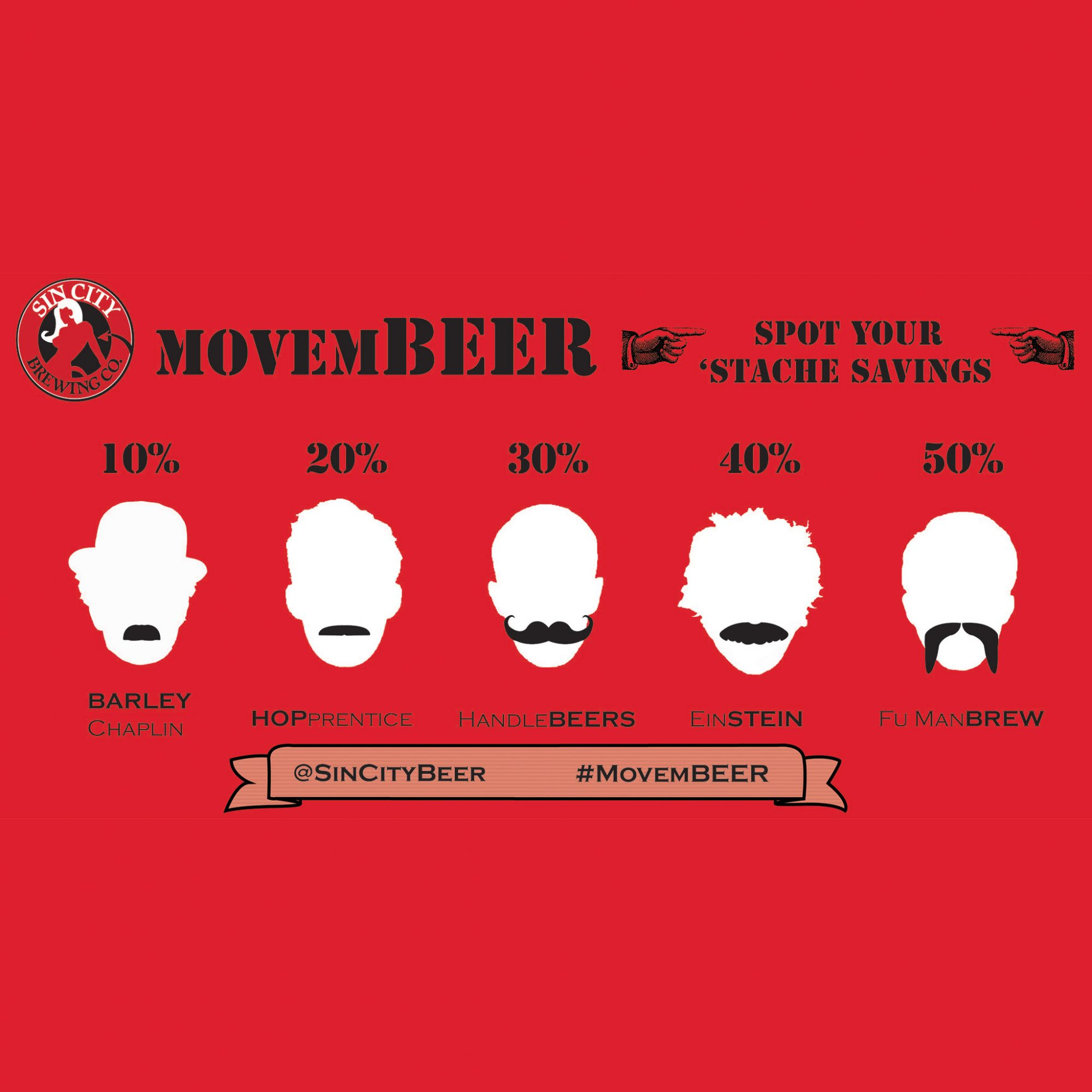 Vegas Brewery Will Give You a Discount for Having a Great Moustache
