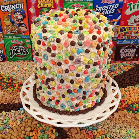 FWX SIX LAYER CEREAL CAKE