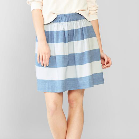GAP 1969 Chambray Skirt