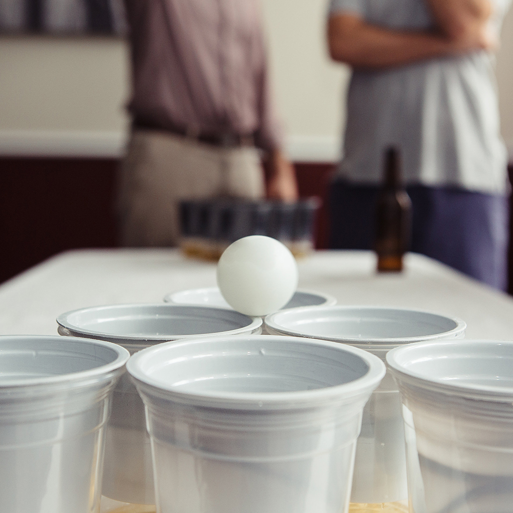New Invention Makes Beer Pong More Sanitary