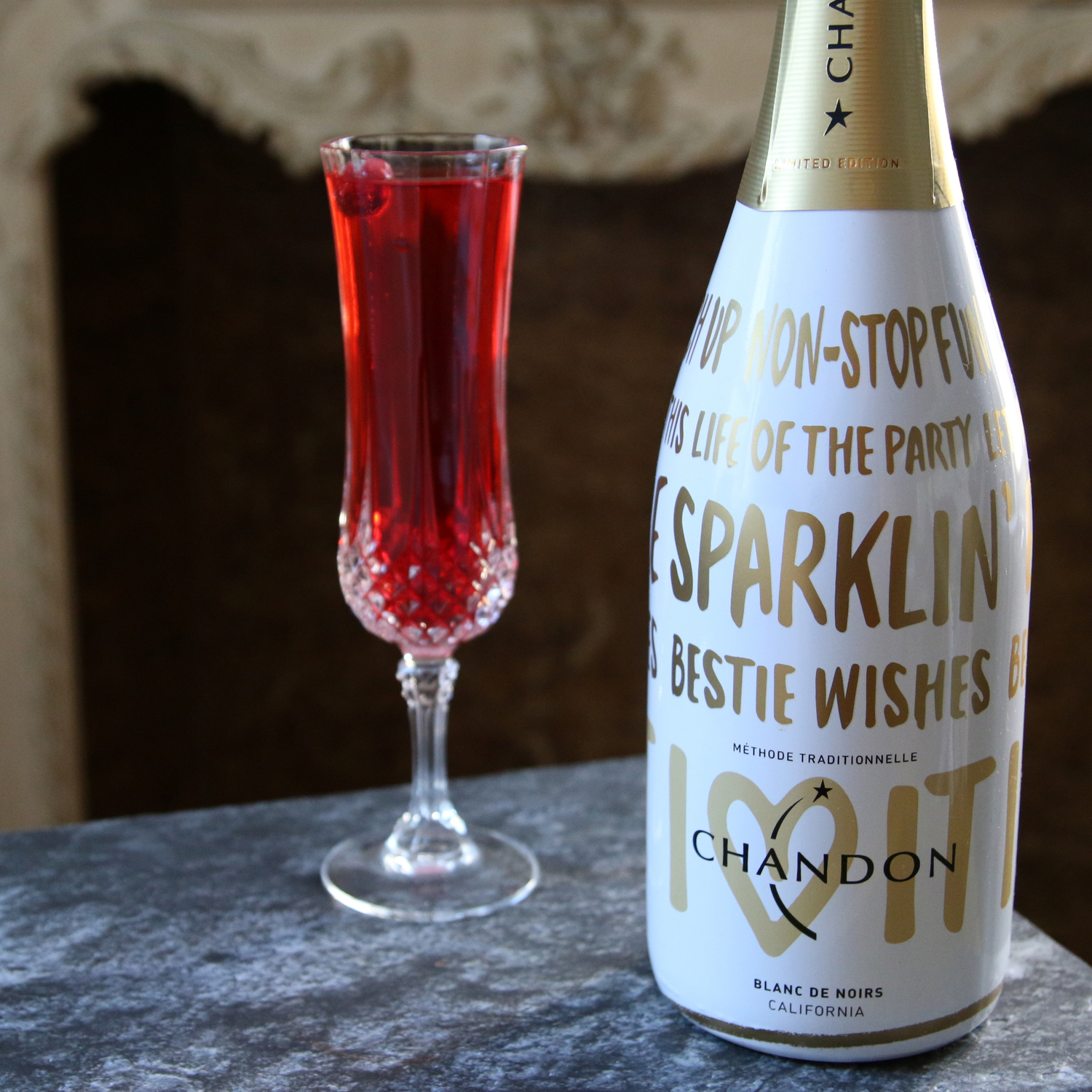 3 Festive Sparkling Cocktails for New Year's Eve