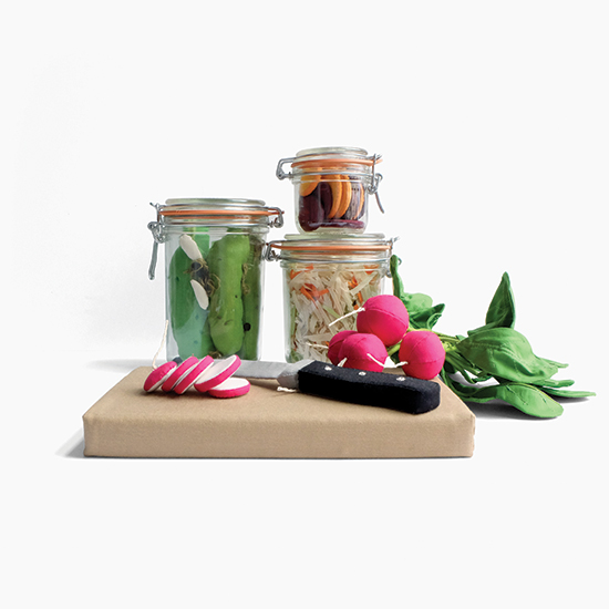 FWX STUFFED HIPSTER EMBLEMS PICKLED PROBIOTICS