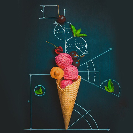 FWX SUGAR ART FRUIT AND ICE CREAM