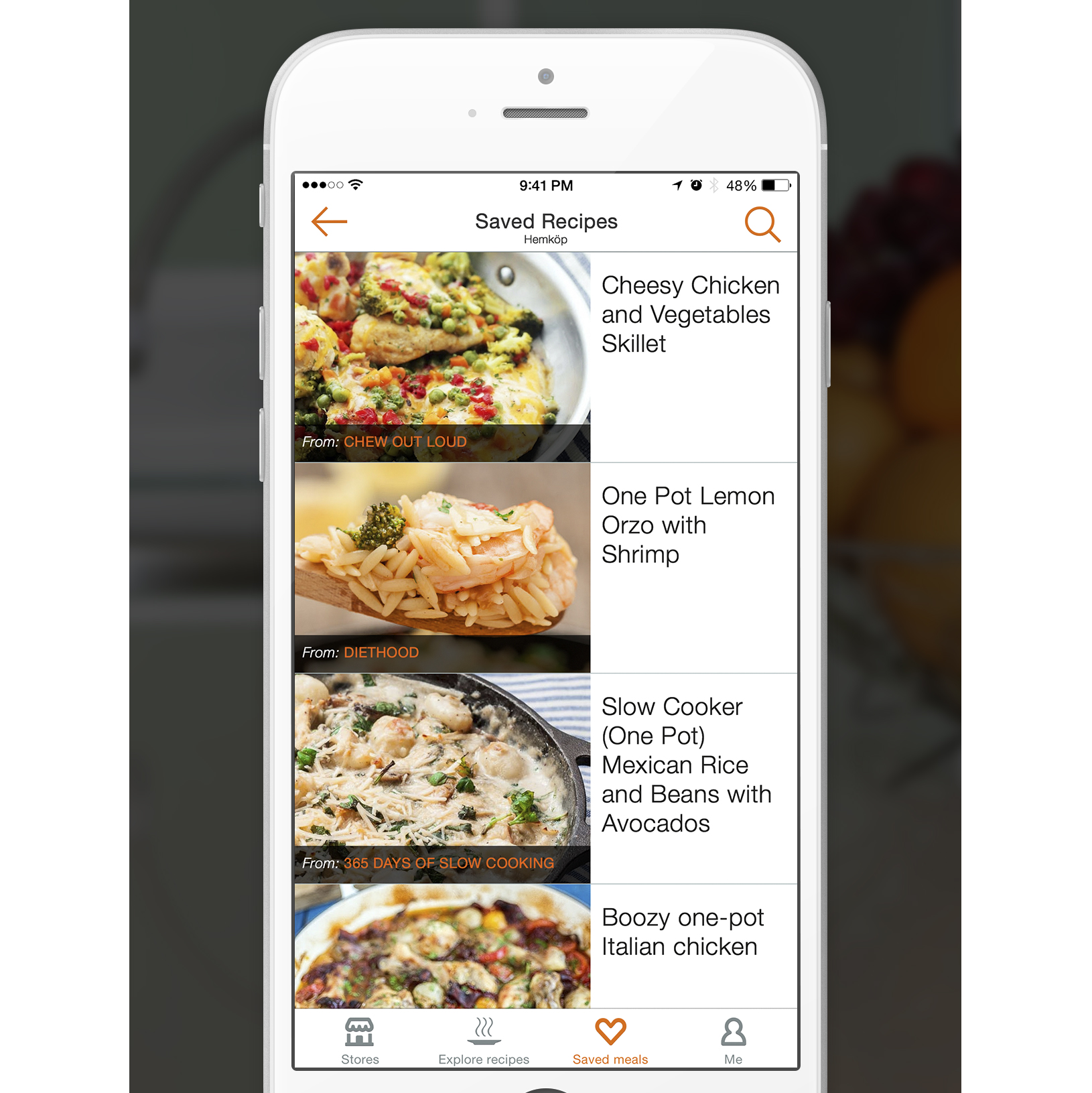 Swedish App Makes Budget Cooking Easier With On-Sale Recipes