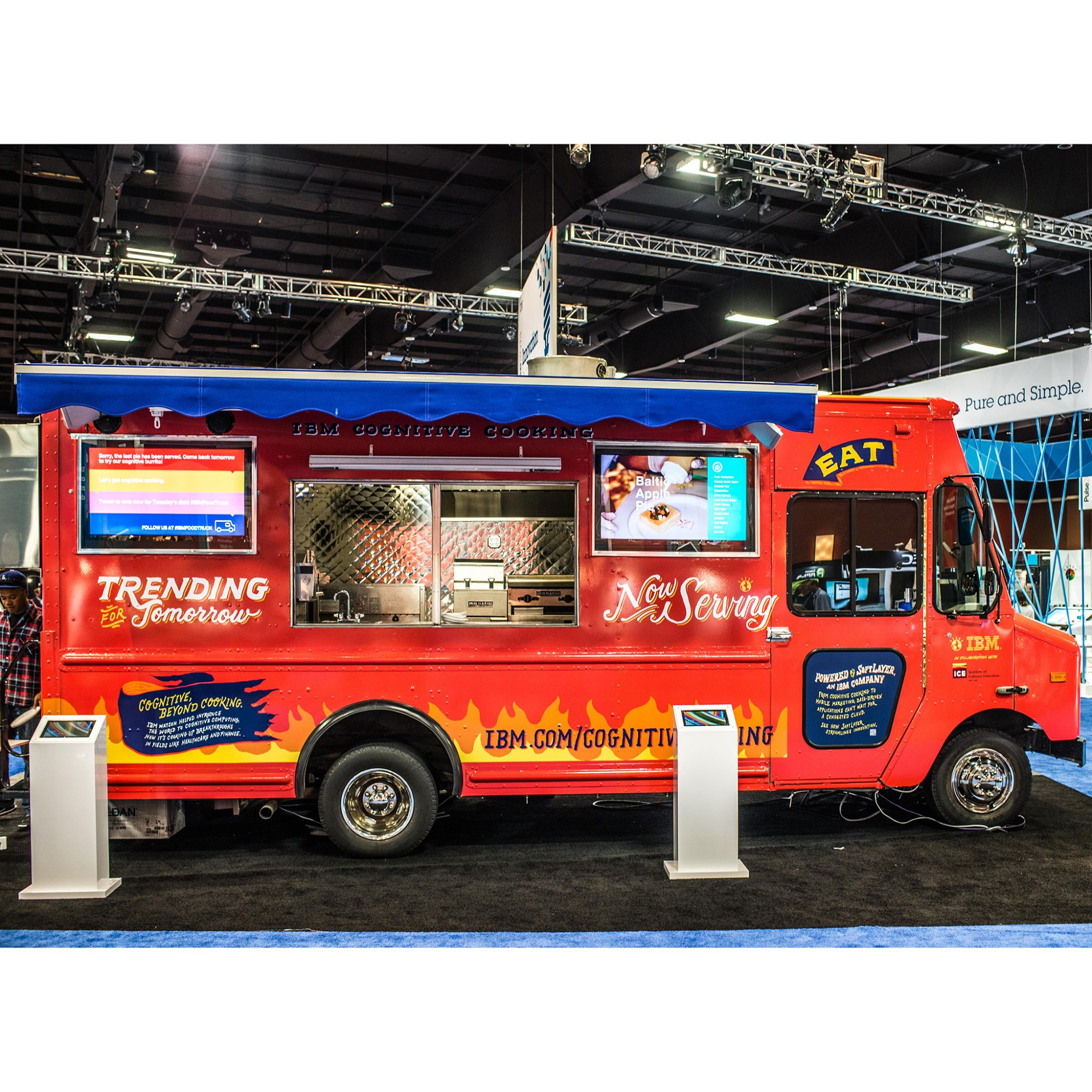 Austrian Chocolate Burritos, Belgian Bacon Pudding and More from Chef Watson at IBM's SXSW Food Truck