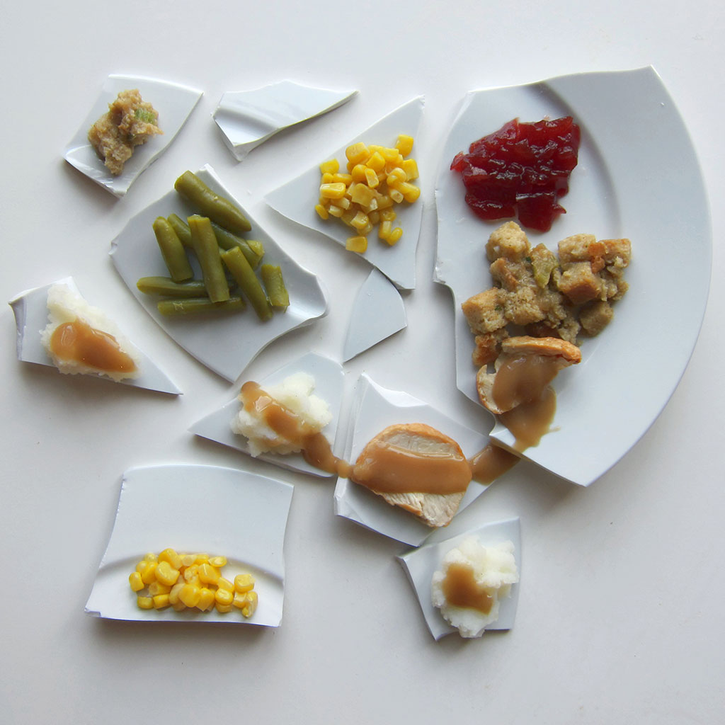 Here's How Picasso Would Plate a Thanksgiving Meal