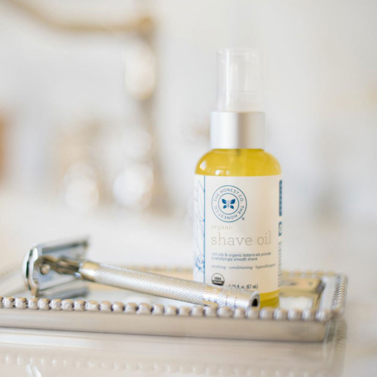 Organic Shave Oil