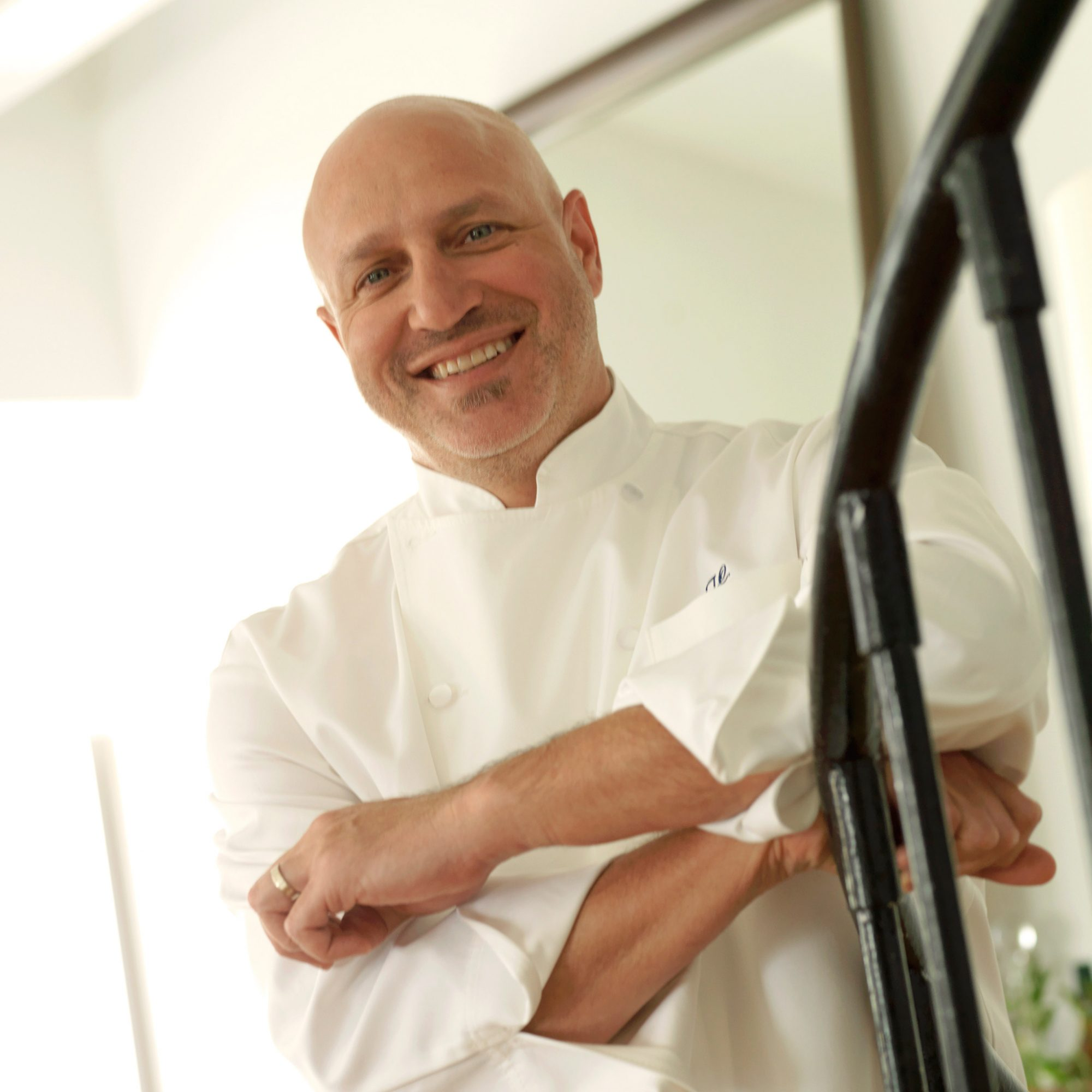 Tom Colicchio Used to Cook Without a Shirt During His First Kitchen Job