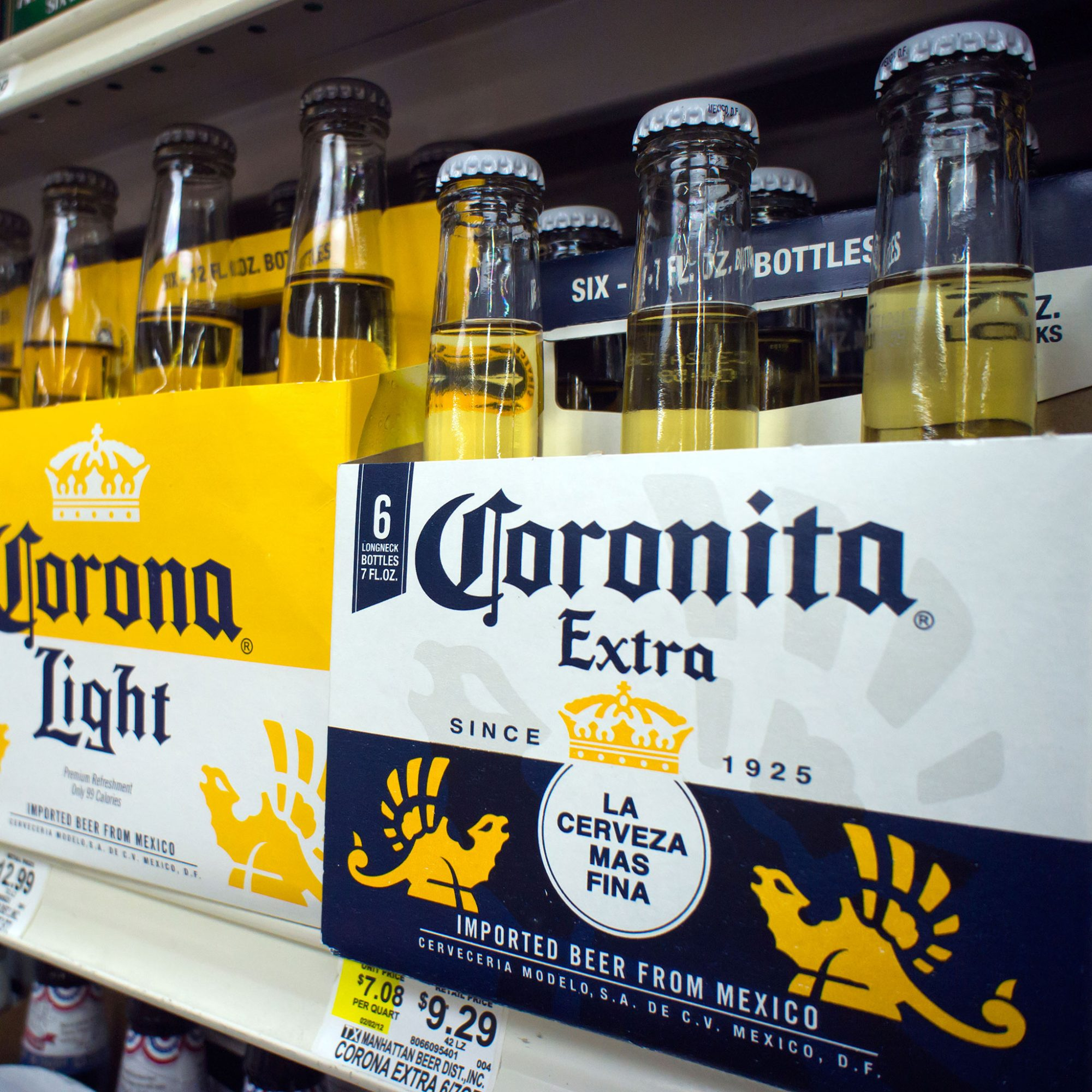 Two-Thirds of America's Imported Beer Is Mexican