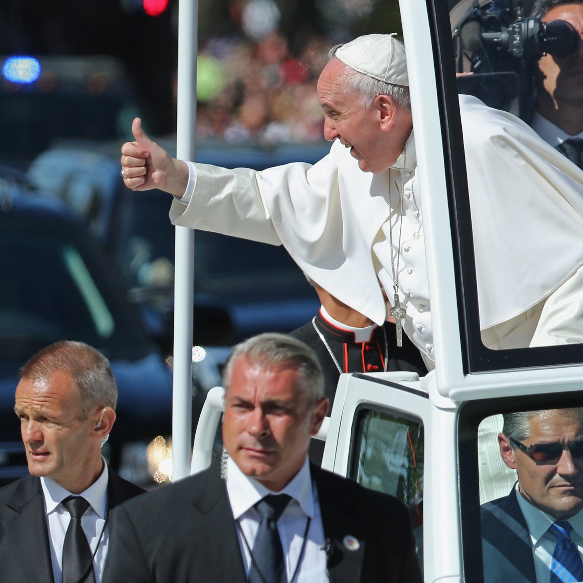 FWX UBER HILICOPTERS FOR THE POPES VISIT
