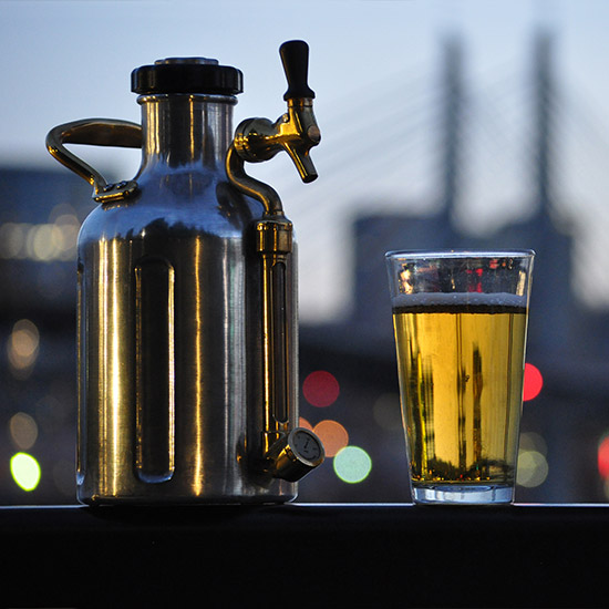 FWX UKEG PRESSURIZED GROWLER