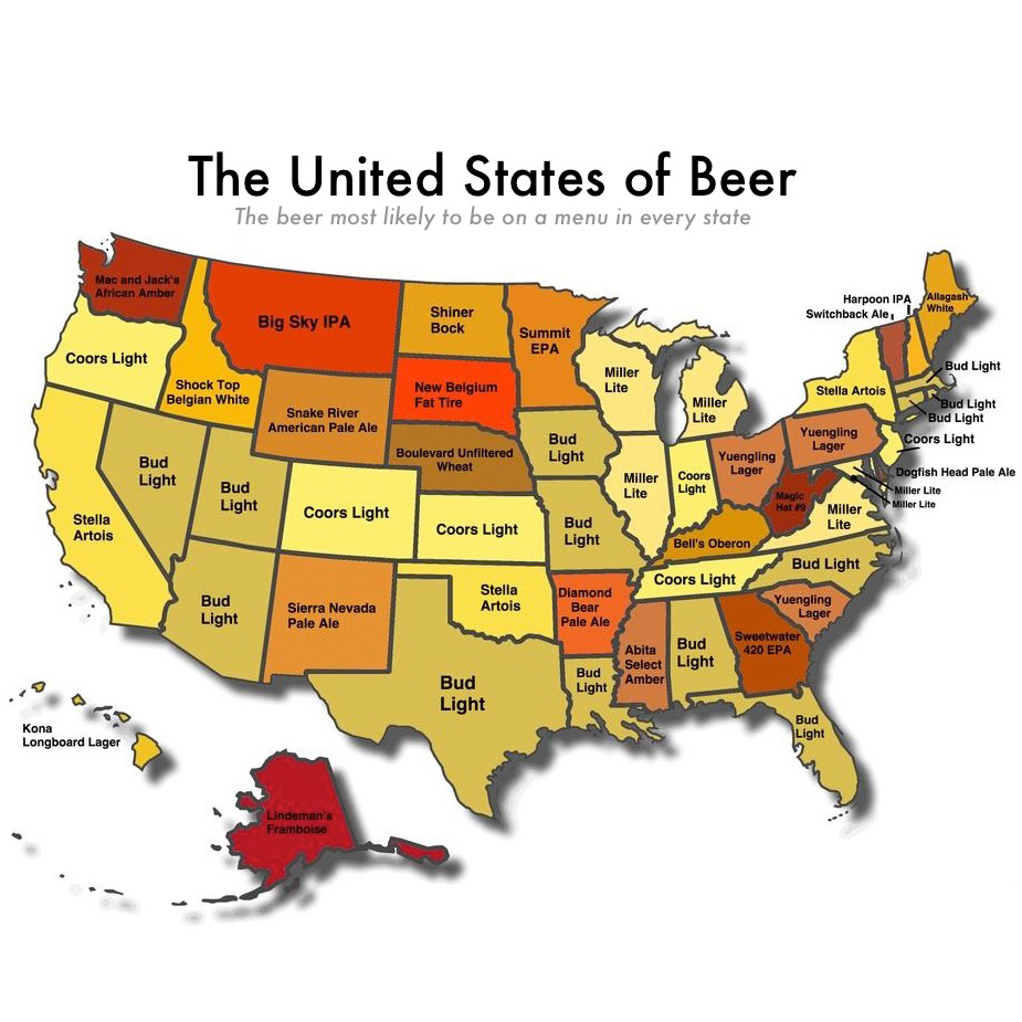 These are most popular beers in America These are most popular beers in America new pics