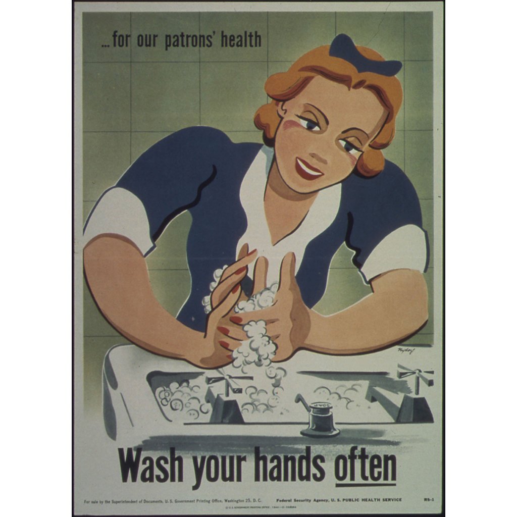 FWX WASH YOUR HANDS OFTEN