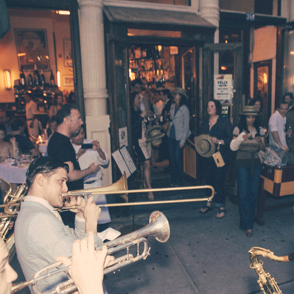 FWX WAYS TO PARTY LIKE THE FRENCH IN NEW YORK BAND STREET